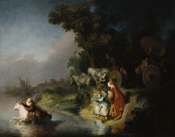 The abduction of europa, Rembrandt